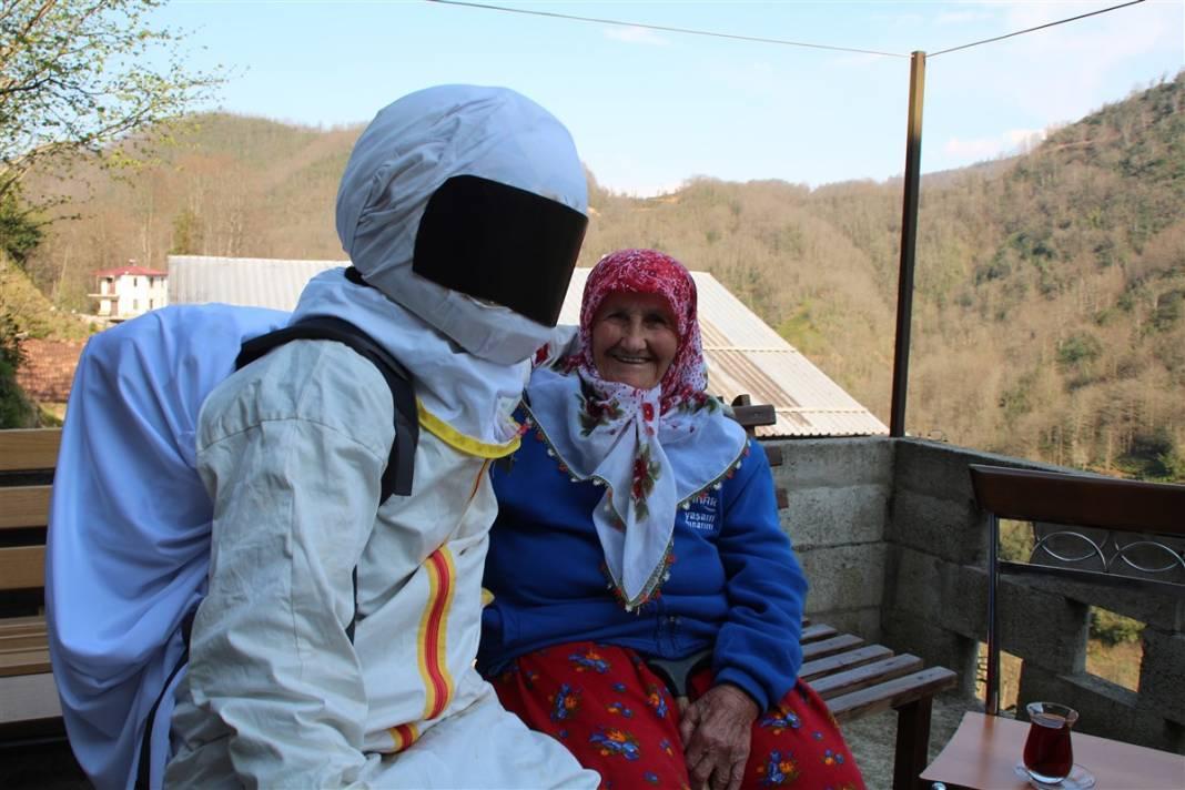 Sosyal medyanın yeni gözdesi! Rizeli astronotlar 4