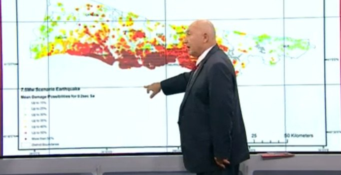 Prof. Dr. Övgün Ahmet Ercan: İstanbul'da iki deprem bekliyorum