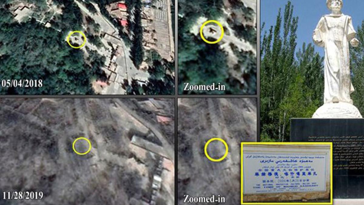 Çin'den kültür katliamı! Türk büyükleri haritadan silindi