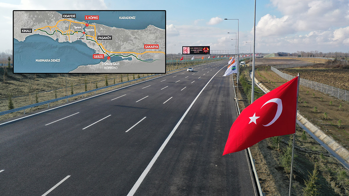 Kuzey Marmara Otoyolu güzergahı nerede? İşte geçiş ücreti...