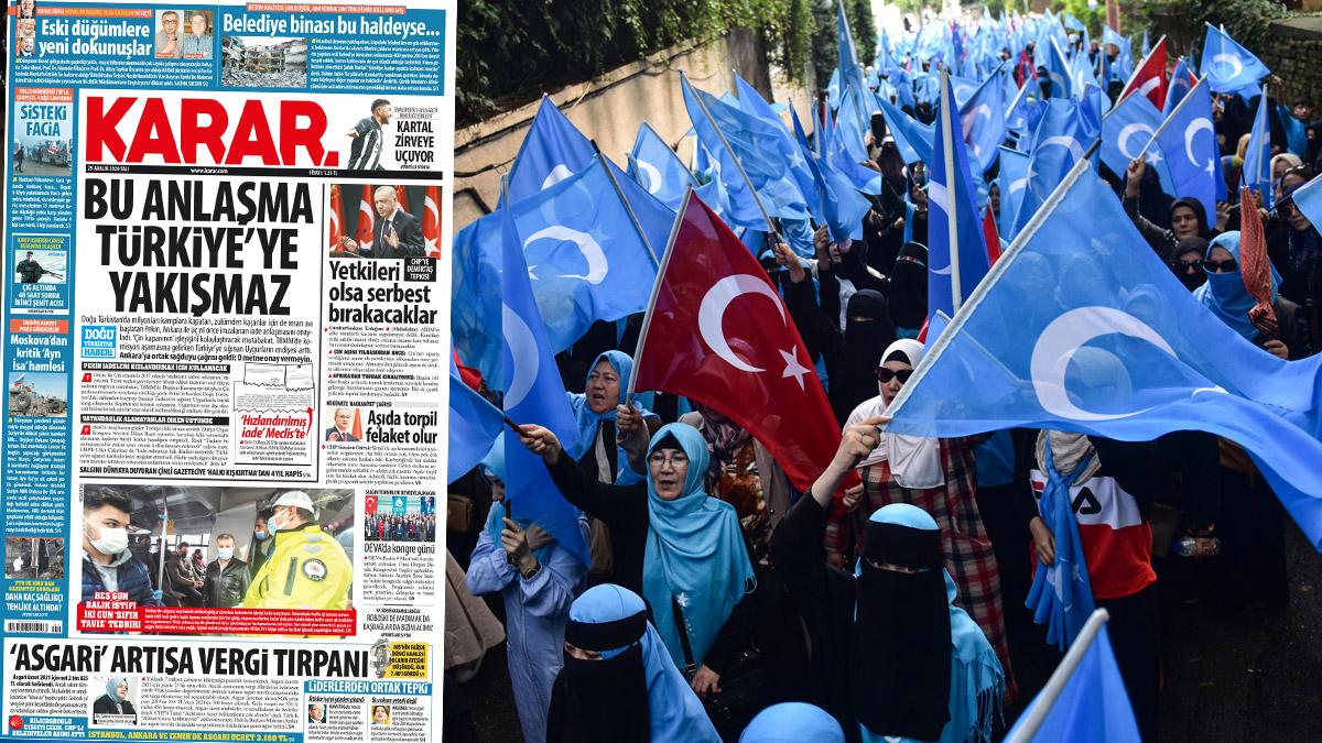 Bu anlaşma Türkiye'ye yakışmaz
