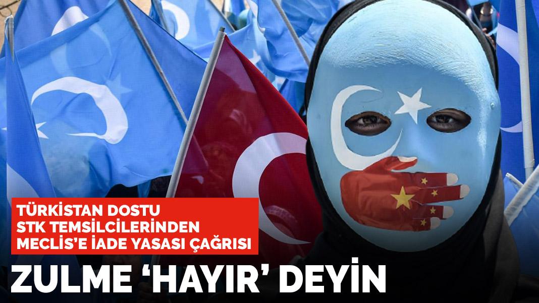 Türkistan dostu STK temsilcilerinden Meclis'e çağrı: Anlaşmayı onaylamayın
