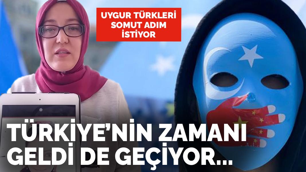 Uygur Türkleri somut adım istiyor: Türkiye'nin zamanı geldi de kavga ...