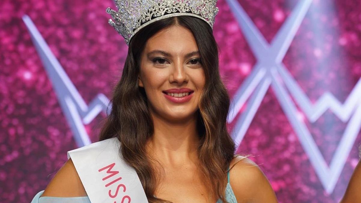 Miss Turkey 2021'in birincisi Dilara Korkmaz seçildi