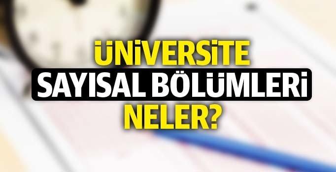 Üniversite sayısal bölümleri hangileri? ÖSYM sayısal bölümleri ve puanları  (2019 YKS)