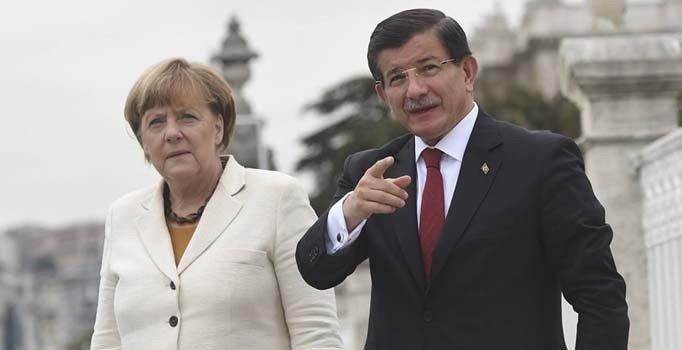 Image result for davutoğlu merkel